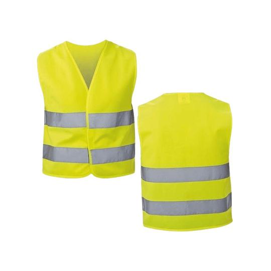 Chaleco Reflectante de Seguridad Amarillo Pack 50