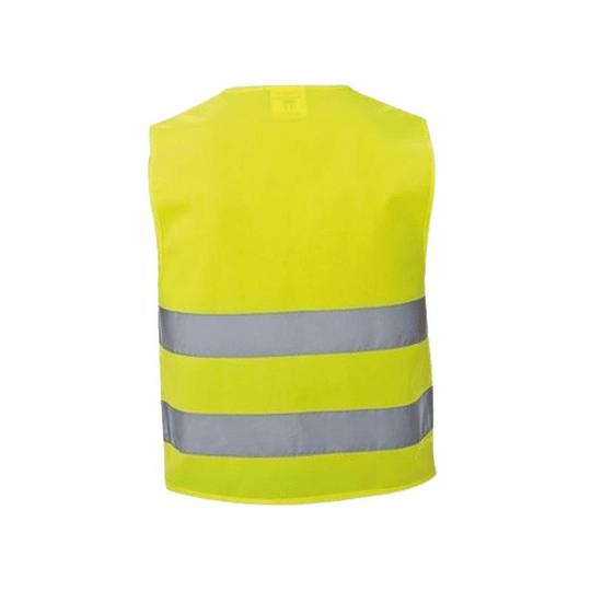 Chaleco Reflectante de Seguridad Amarillo Pack 10