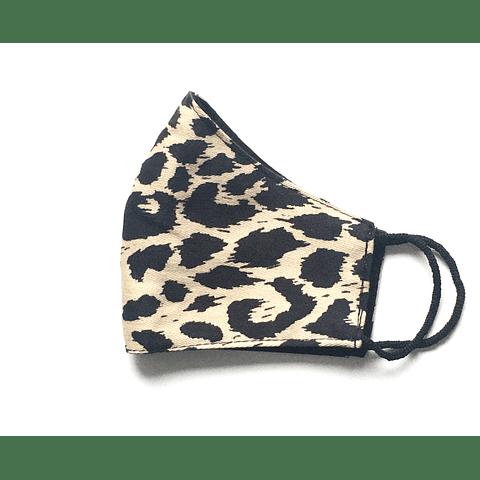 Mascarilla Leopardo