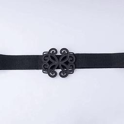 Cinturón Vintage Negro M