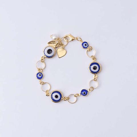 Olho grego com berloques