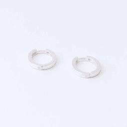 Argolla macisa oval Plata