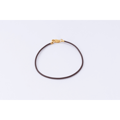 PULSERA CUERO SIMPLE