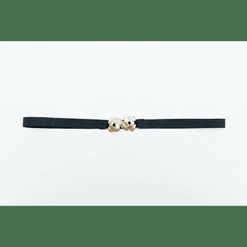 Cinturón Nudos Dorado