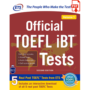 eBook Official TOEFL iBT® Tests Volume 1