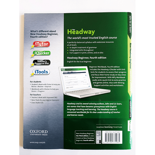 Libro New Headway Beginner Workbook 4th Edition - Image 2