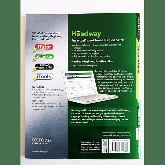 Libro New Headway Beginner Workbook 4th Edition - Image 2