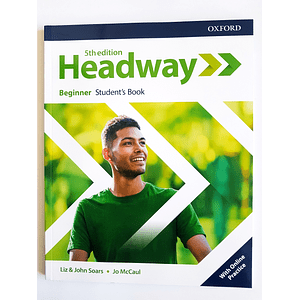 Libro Headway Beginner Student's Book 5th edition
