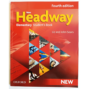 Libro New Headway Elementary Student's book 4th Edition