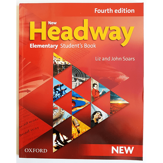 Libro New Headway Elementary Student's book 4th Edition - Image 1