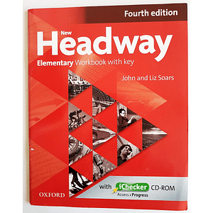Libro New Headway Elementary Workbook 4th Edition