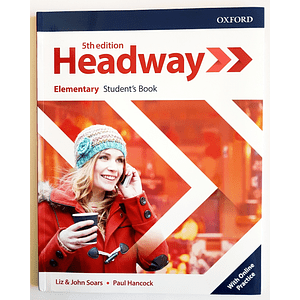 Libro Headway Elementary Student's Book 5th edition