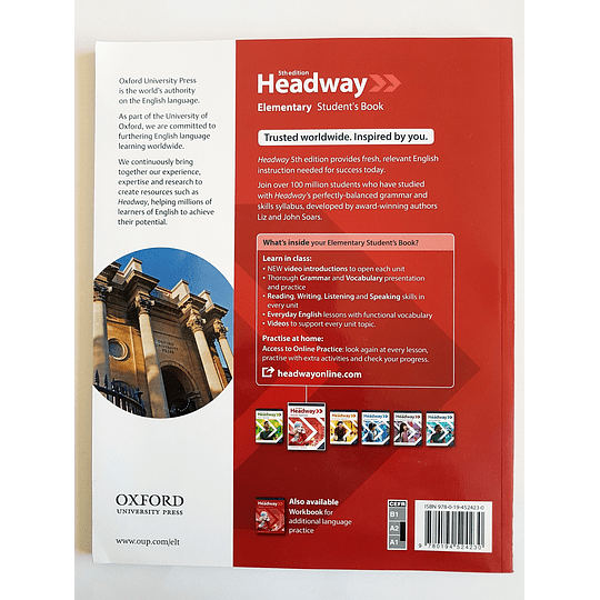 Libro Headway Elementary Student's Book 5th edition - Image 2