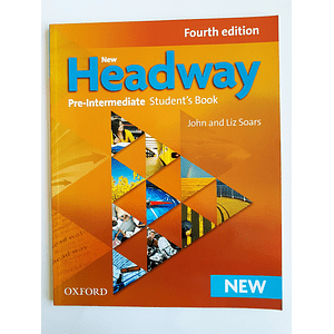 Libro New Headway Pre-Intermediate Student's book 4th Edition