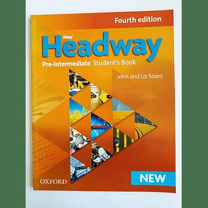 Libro New Headway Pre-Intermediate Student's book 4th Edition