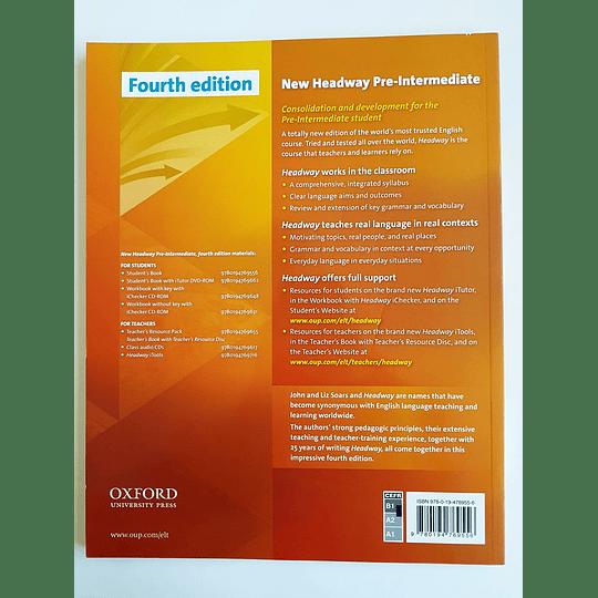 Libro New Headway Pre-Intermediate Student's book 4th Edition - Image 2