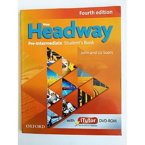 Libro New Headway Pre-Intermediate Student's book con iTutor 4th Edition