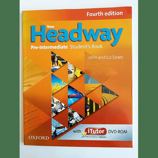 Libro New Headway Pre-Intermediate Student's book con iTutor 4th Edition - Image 1