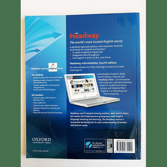 Libro New Headway Intermediate Student's book con iTutor 4th Edition - Image 2