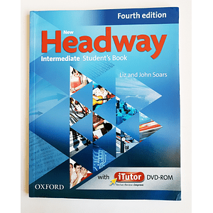 Libro New Headway Intermediate Student's book con iTutor 4th Edition