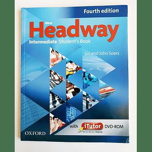 Libro New Headway Intermediate Student's book con iTutor 4th Edition