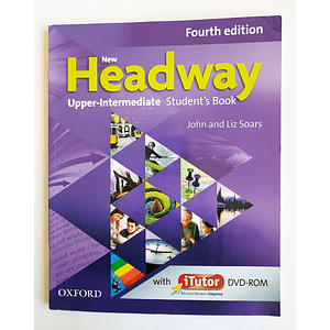 Libro New Headway Upper-Intermediate Student's book con iTutor 4th Edition