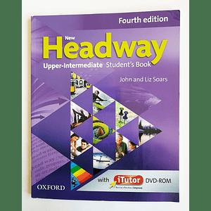 Libro New Headway Upper-Intermediate Student's book con iTutor 4th Edition