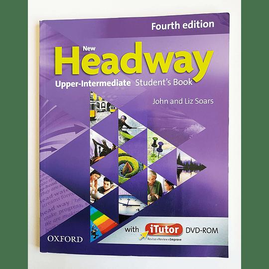 Libro New Headway Upper-Intermediate Student's book con iTutor 4th Edition - Image 1