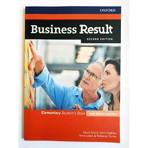 Libro Business Result Elementary Student's book 2nd Edition