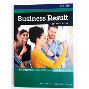 Libro Business Result Pre-Intermediate Student's book 2nd Edition