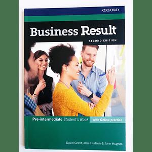 Libro Business Result Pre-Intermediate Student's book 2nd Edition
