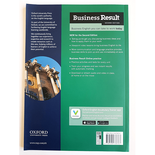 Libro Business Result Pre-Intermediate Student's book 2nd Edition - Image 2