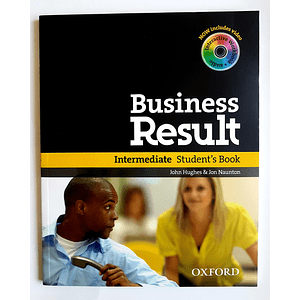Libro Business Result Intermediate Student's book 1st Edition