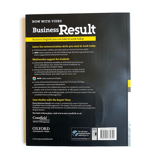 Libro Business Result Intermediate Student's book 1st Edition - Image 2