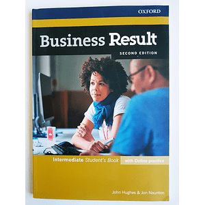 Libro Business Result Intermediate Student's book 2nd Edition