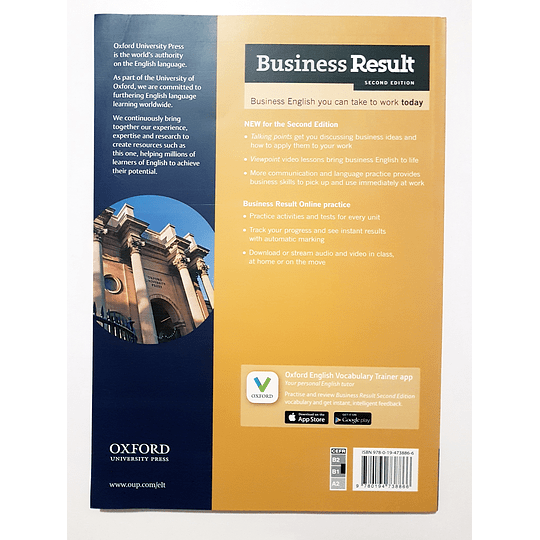 Libro Business Result Intermediate Student's book 2nd Edition - Image 2