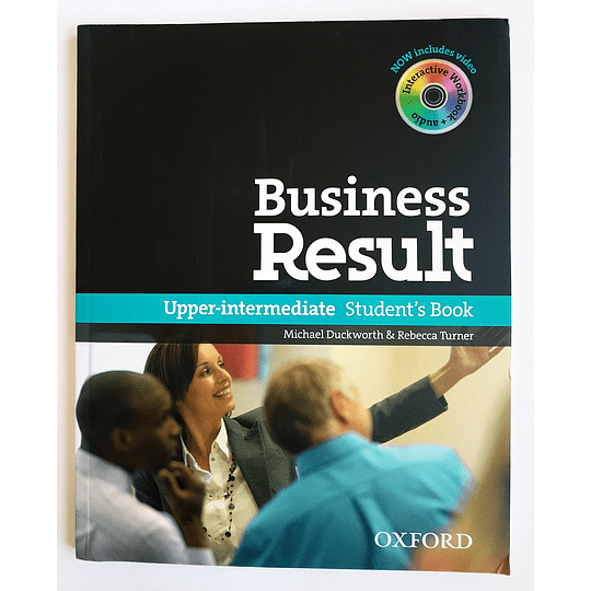Libro Business Result Upper-Intermediate Student's book 1st Edition - Image 1