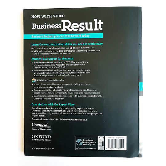 Libro Business Result Upper-Intermediate Student's book 1st Edition - Image 2