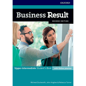 Libro Business Result Upper-Intermediate Student's book 2nd Edition