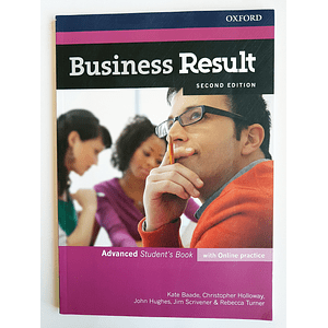 Libro Business Result Advanced Student's book 2nd Edition