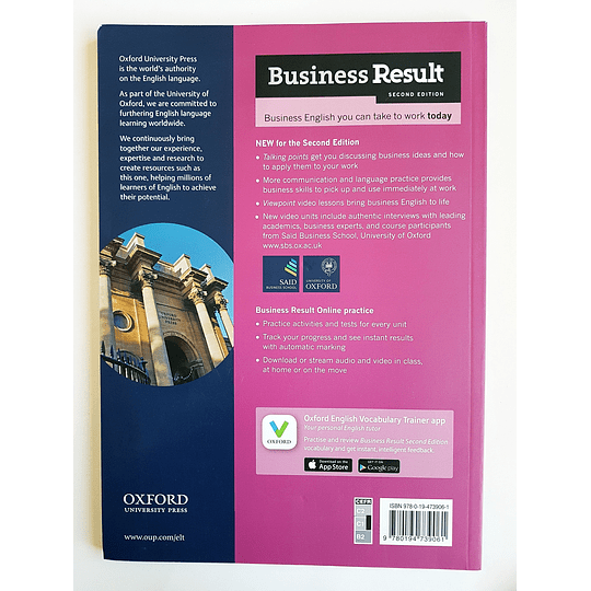 Libro Business Result Advanced Student's book 2nd Edition - Image 2