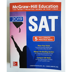 Libro McGraw-Hill Education SAT 2019