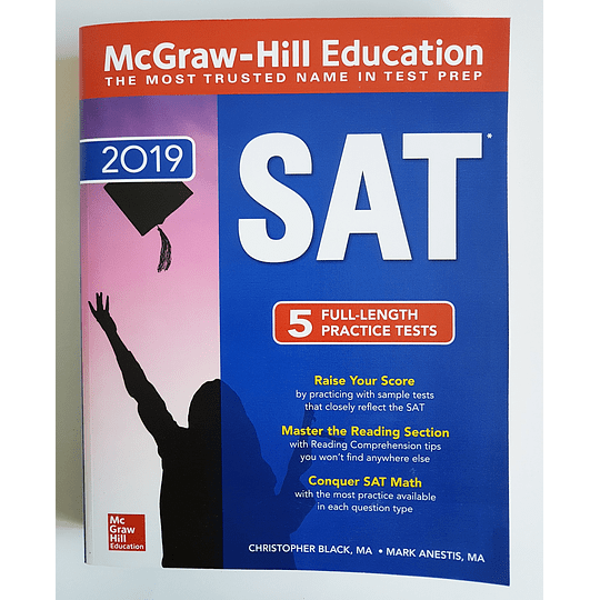 Libro McGraw-Hill Education SAT 2019 - Image 1