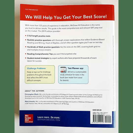 Libro McGraw-Hill Education SAT 2019 - Image 2