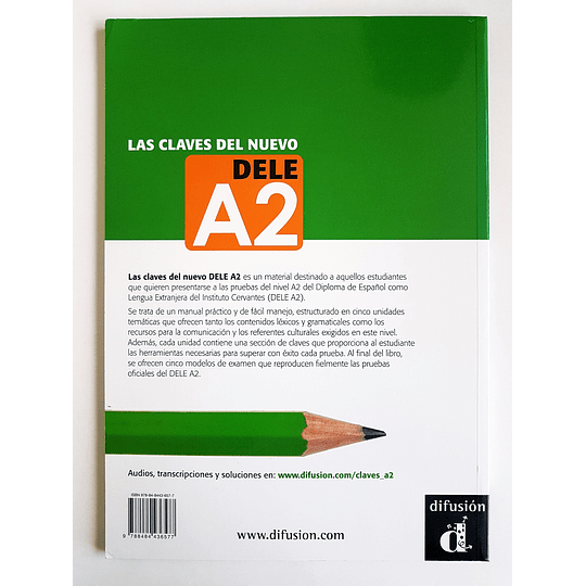 Libro Las claves del nuevo DELE A2 - Image 2