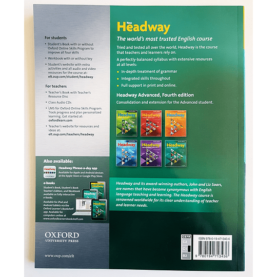 Libro New Headway Advanced Student's book 4th Edition - Image 2