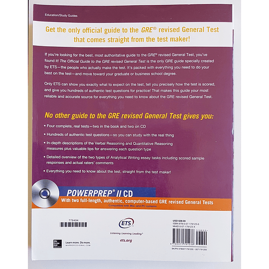 Libro The Official Guide to the GRE revised General Test - Image 2