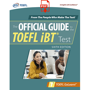eBook The Official Guide to the TOEFL iBT Test 6th ed