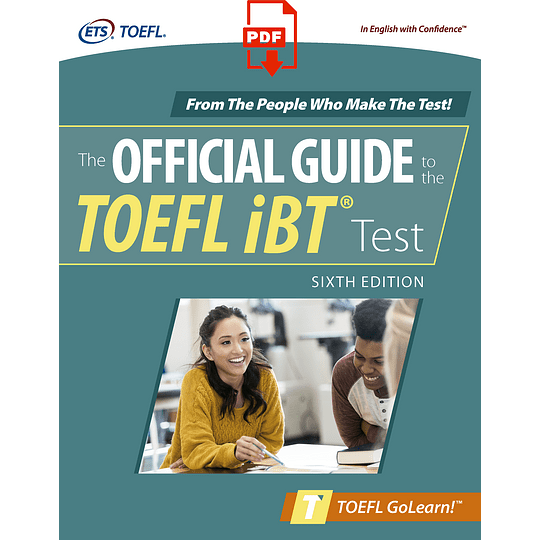 eBook The Official Guide to the TOEFL iBT Test 6th ed - Image 1