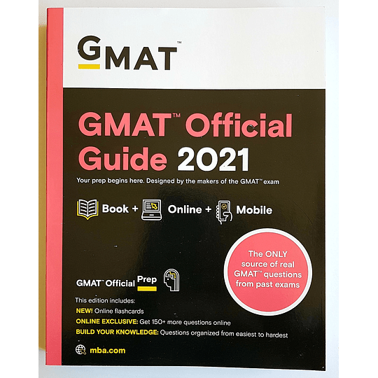 Libro Gmat Official Guide 2021 - Image 1